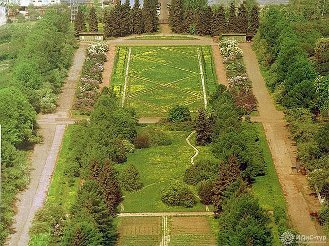 το δάσος του κήπου που χρονολογείται